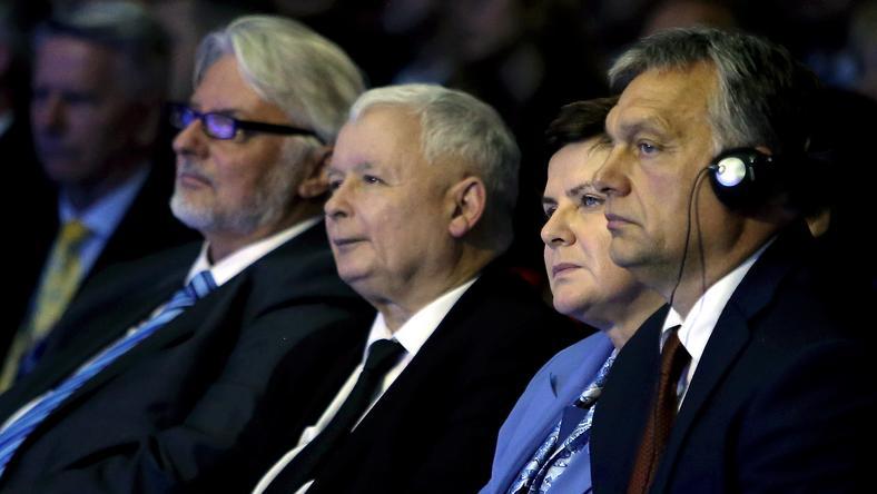 Ekspert: Orbán i Kaczyński próbują sprawdzić, jak daleko mogą się posunąć