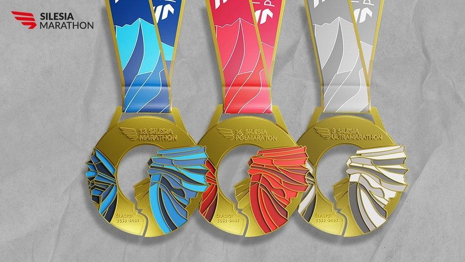Silesia Marathon pokazał medale
