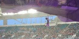 Horror na stadionie. Na ten widok ludzie krzyczeli z przerażenia. FILM