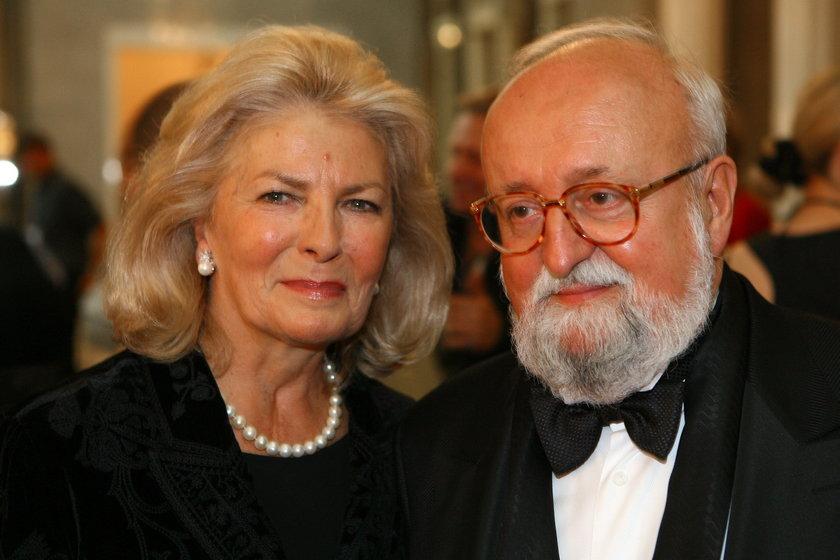 Elżbieta i Krzysztof Pendereccy