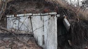 Sztorm odsłonił kolejne bunkry na polskim Wybrzeżu