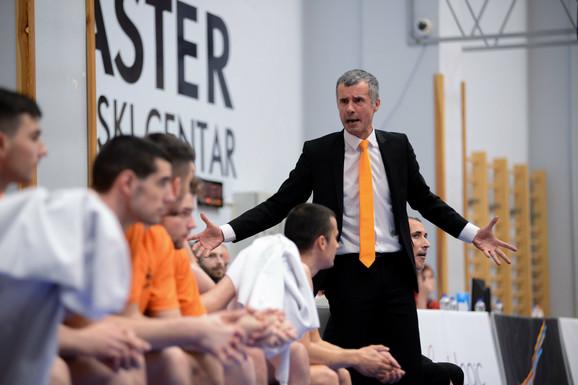 Miro Alilović, trener Dinamika