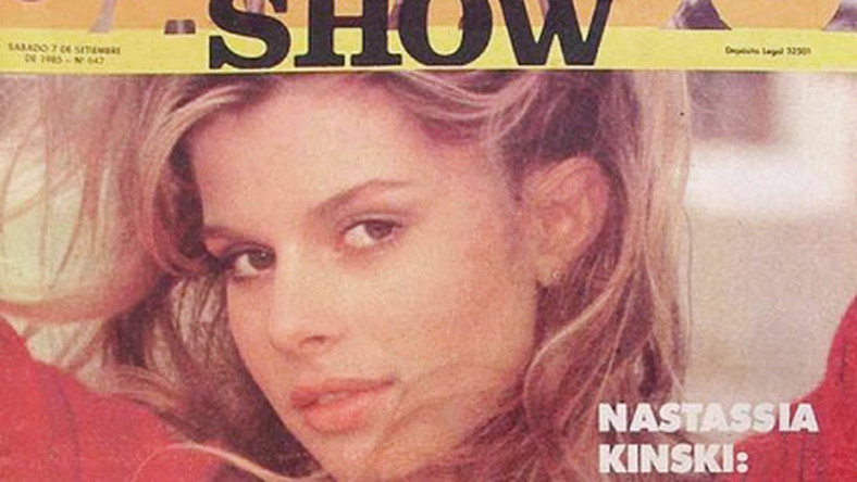Koniec lat 70.: Nastassja Kinski często gości na okładkach magazynów