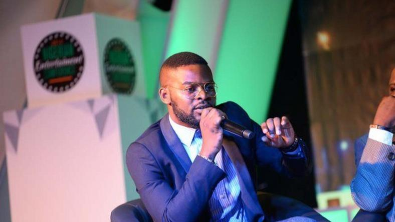 Falz, speaking at the 2016 Nigerian Entertainment Conference held on April 20, 2016 in Lagos
