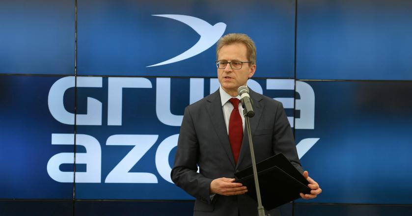 Grupa Azoty informowała o złożeniu wstępnej oferty Compo Expert w połowie lutego. Na zdjęciu: Wojciech Wardacki, prezes Grupy Azoty