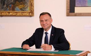 Prezydent Duda o ordynacji do PE: Mocno skłaniam się do weta [WYWIAD DGP]