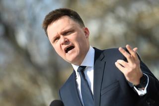 Hołownia: PiS w środku nocy wprowadza nielegalne poprawki do prawa wyborczego