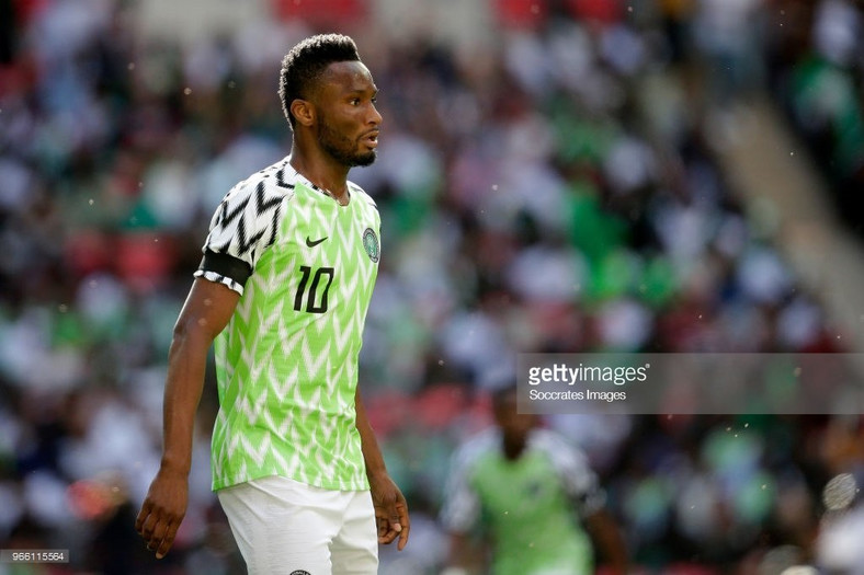 Mikel John Obi is back with the Super Eagles of Nigeria after a one-year absence
