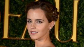 """Emma Watson na premierze filmu """"Piękna i Bestia"""". Kreacja podzieliła fanów..."""