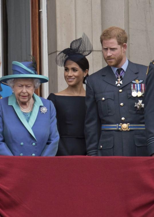 Meghan Markle, Elizabeth II, Prince Harry