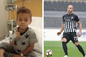 MESI NE BI MOGAO OVOLIKO DA GA OBRADUJE Mali Duki dobio DIRLJIV poklon od omiljenog fudbalera /FOTO/