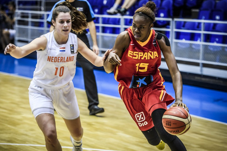 Mlade košarkašice Španije, Mlade košarkašice Holandije