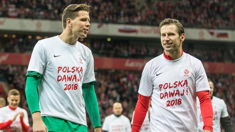 Grzegorz Krychowiak i Wojciech Szczęsny