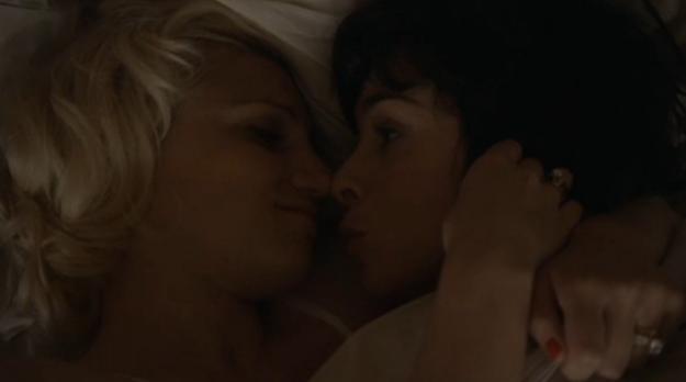Gorące lesbijskie sceny seksu filmowego