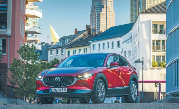 Mazda CX-30 2.0 SkyActiv-G fot. - mat. prasowe