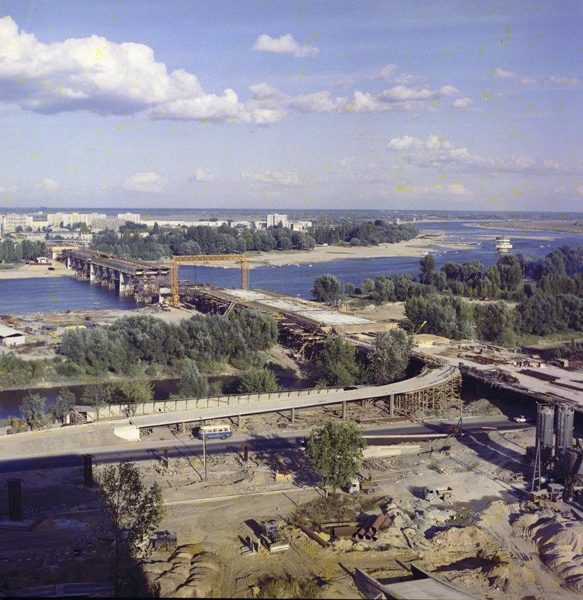1973 rok. Budowa Trasy Łazienkowskiej