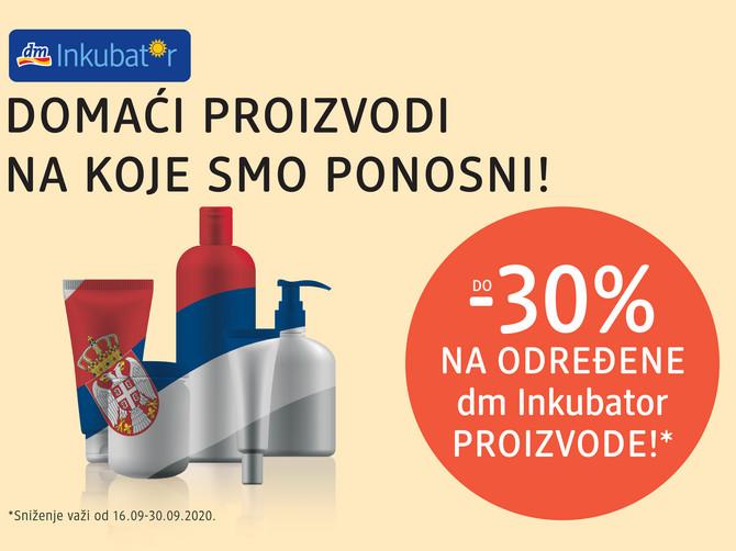 Potražite domaće proizvode u najbližem DM-u, foto: ustupljena fotografija/DM