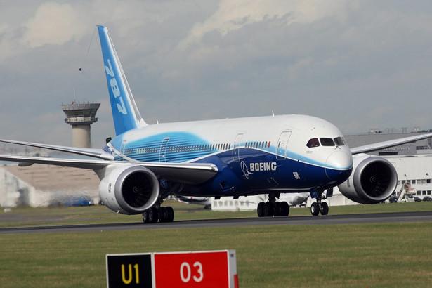 Najnowocześniejszy samolot świata Boeing 787 Dreamliner
