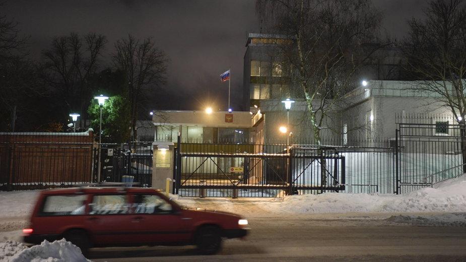 Rosyjska ambasada w Sztokholmie