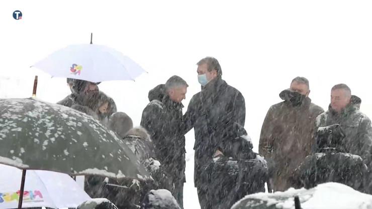 Aleksandar Vučić otvaranje gondola Zlatibor