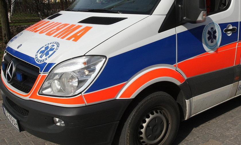 2-latka wypadła z okna w Koluszkach