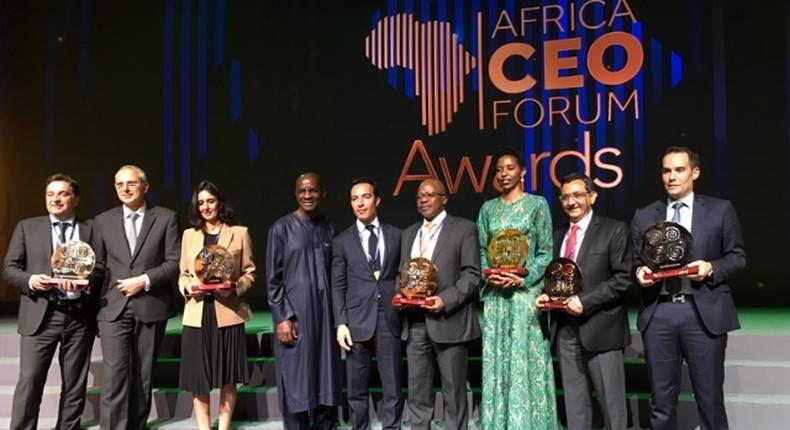 Past winners at Africa CEO Forum Awards
