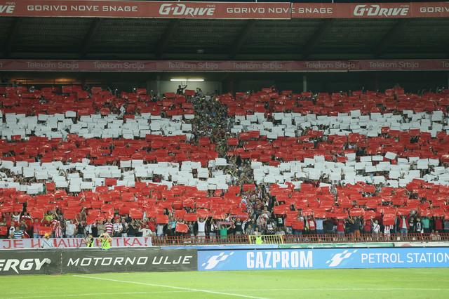 Sa utakmice Crvena zvezda - Ludogorec