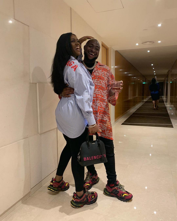 And guess who thinks he won't be able to spend the rest of his life with anyone else other than Chioma? Davido of course! [Instagram/DavidoOfficial]