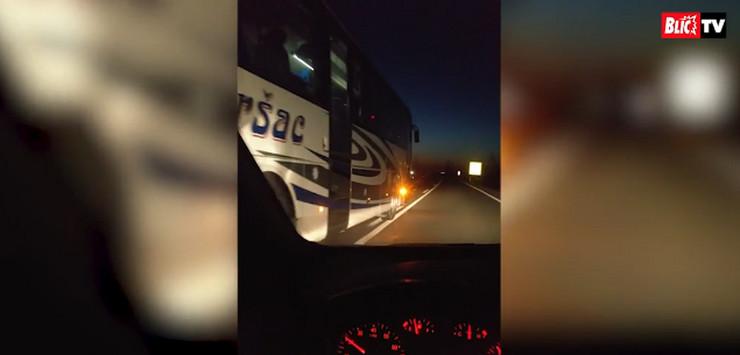 autobus zrenjanin novi sad preticanje puna linija bahata voznja