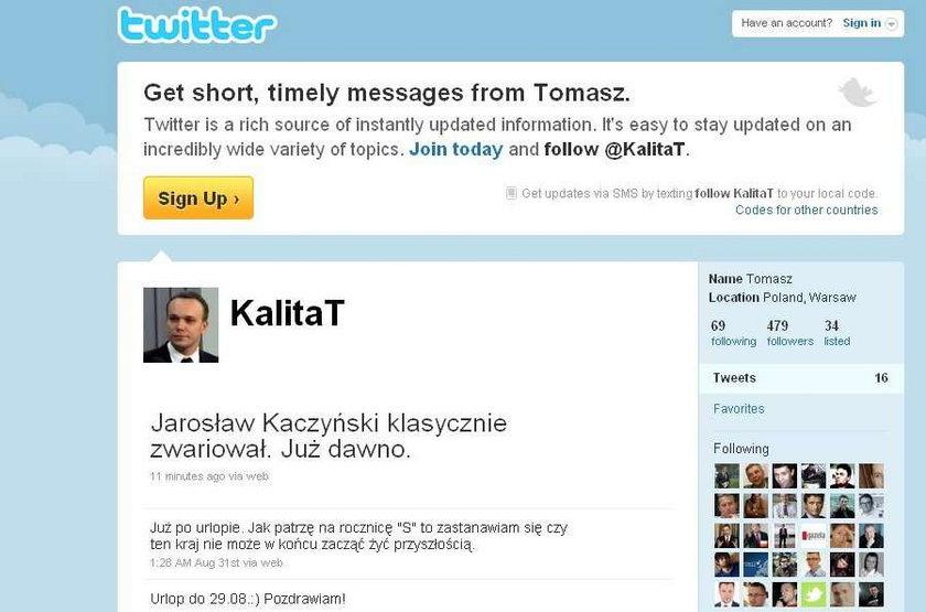 Kaczyński zwariował! Palikot? NIE!