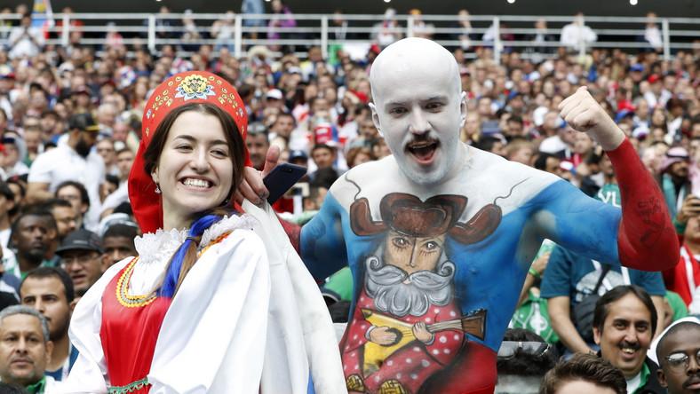 Mecz przyciągnął na trybuny moskiewskiego obiektu ponad 78 tysięcy widzów.