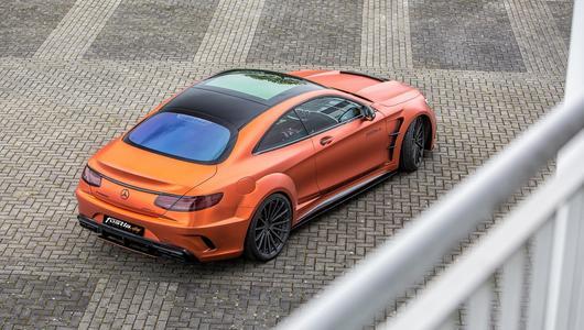 Szybki i wściekły Fostla Mercedes-AMG S 63 Coupé
