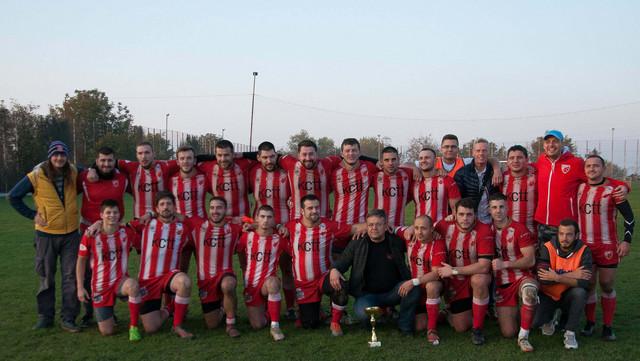Ragbi 13 ekipa Crvene zvezde - prvak Srbije za 2020. godinu