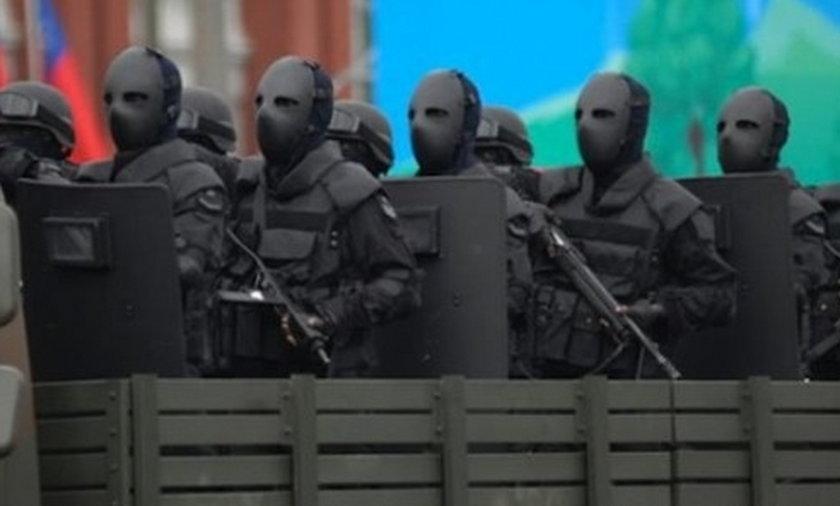 Straszne oblicze armii.