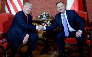Grybauskaite: Wizyta Trumpa oznaką uwagi USA wobec naszego regionu