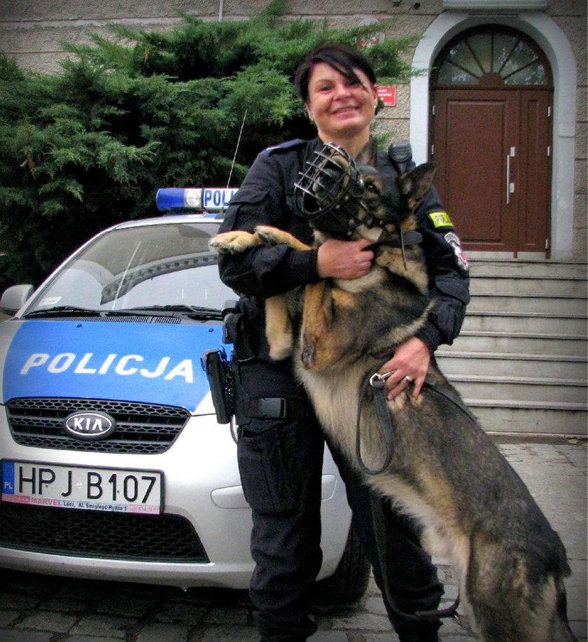 St. sierż. Marzena Pniewska
