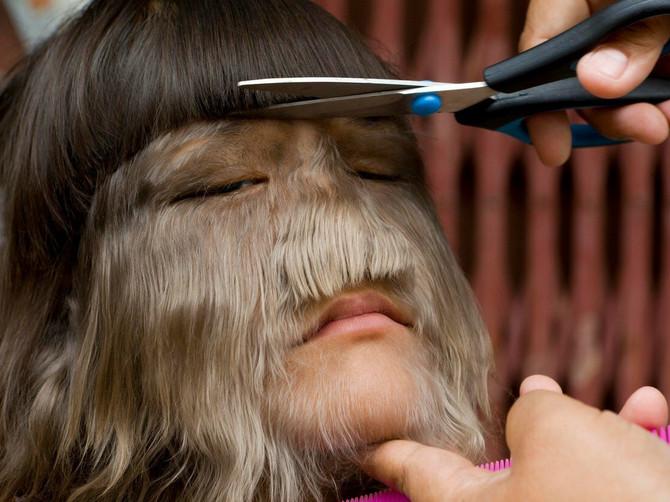 Ušla je u Ginisovu knjigu kao NAJDLAKAVIJA devojčica na svetu: Sada je obrijala sve dlake i pokazala svoje PRAVO LICE