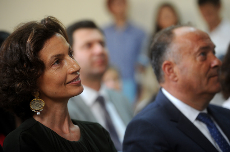 Odri Azule UNESCO i Mladen Šarčević