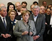 Zerwanie rozmów koalicyjnych może osłabić pozycję Angeli Merkel