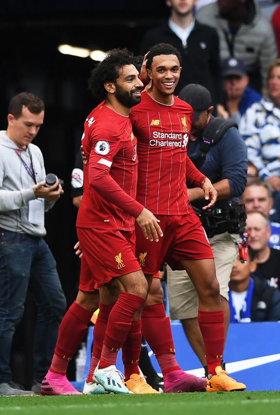 Salah je asistirao mlađem saigraču kod prvog gola Liverpula