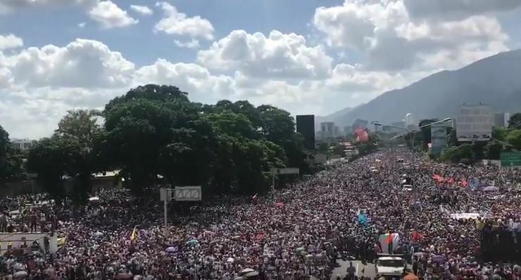 protesti, venecuela