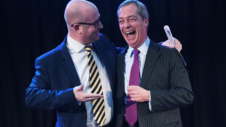 Paul Nuttall i Nigel Farage