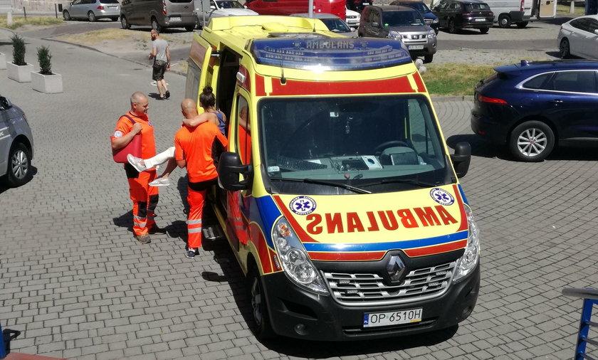 Niefortunny wypadek na próbach w Opolu