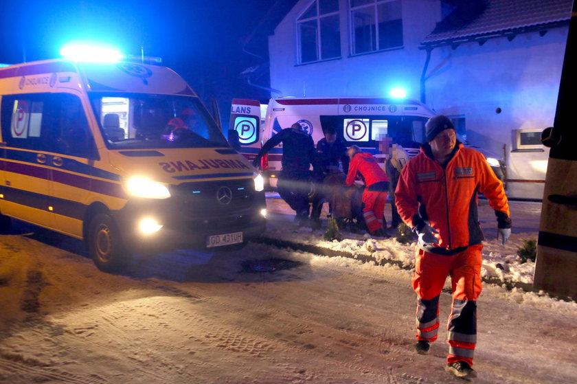 Pacjentka uratowana z pożaru hospicjum w Chojnicach dziękuje policjantom