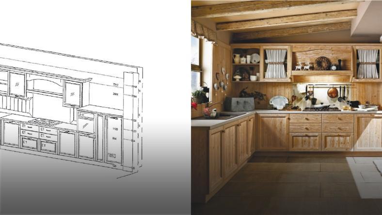 Drewniana Kuchnia Projekty Zdjęcia Dom