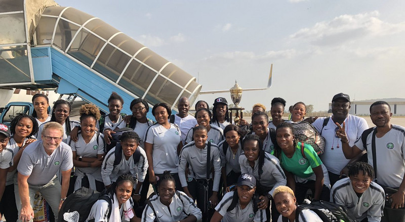 Super Falcons travel to China on Monday as NFF confirm 10 friendly games before World Cup