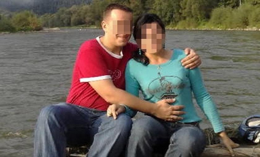 Leszek C. z żoną