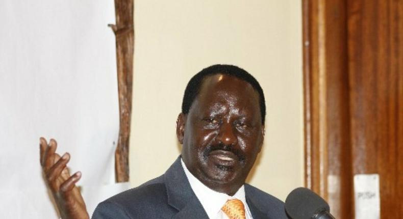 Raila Odinga has termed President Uhuru Kenyatta's response to the drought crisis facing Kenya as a political gimmick.