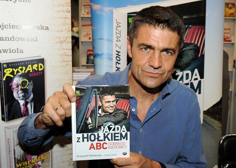 Krzysztof Hołowczyc promuje książkę