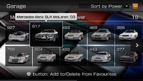 "Screen z gry ""Gran Turismo PSP"""